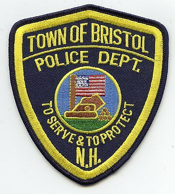 Bristol New Hampshire Nh Police Patch