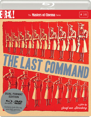 The Last Command - The Masters of Cinema Series DVD (2016) Emil Jannings