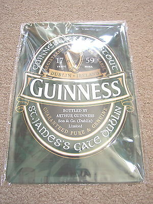 Guinness Extra Stout Sign, St. James's Gate, Dublin, Genuine Licensed Product