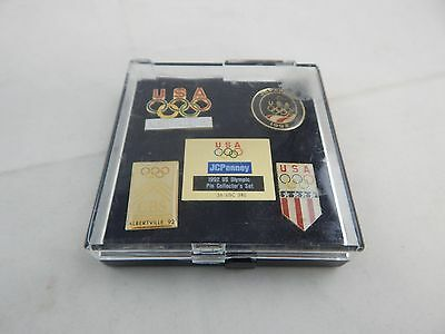 Set of 5 1992 Olympic Pins