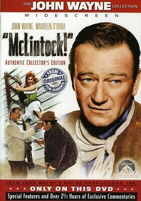 MCLINTOCK (DVD, 2005, Collector's Edition) NEW