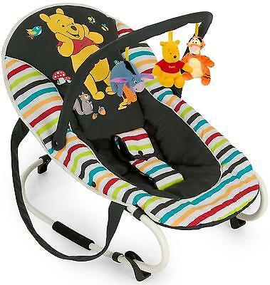 Hauck WINNIE THE POOH TIDY TIME BUNGEE DELUXE ROCKER Handles BN