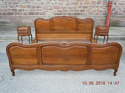 ANTIQUE FRENCH LOUIS PHILIPPE Bedroom set with KING SIZE BED