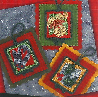 Lizzie Kate Holiday Hang Ups 2 Punchneedle Embroidery Pattern