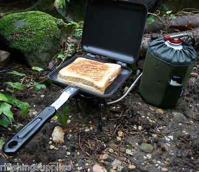 NGT Bankside Sandwich Toaster Carp Fishing Camping Stove Toastie Maker
