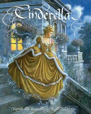 Cinderella by Ruth Sanderson (English) Paperback Book Free Shipping!
