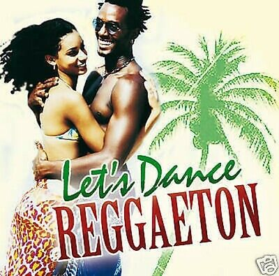 CD DVD Let's Dance Reggaeton Distanziatori con Various CD e Bonus Tanzkurs DVD