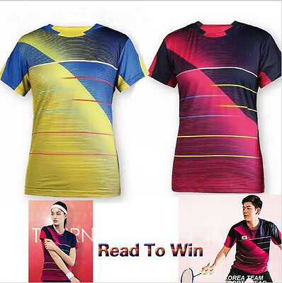 2016 New Victor men's Tops table tennis clothing Badminton Only T-shirt 36013