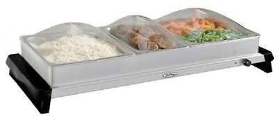 Broilking Professional Family Size Buffet Server, NBS-3SLP
