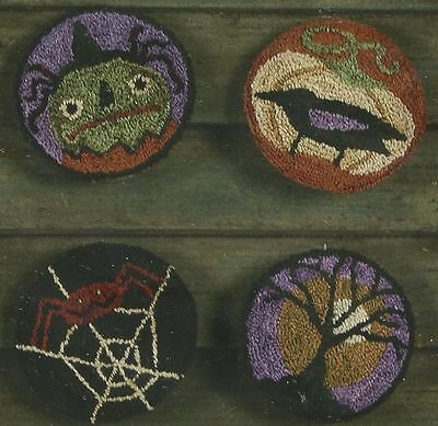 Threads That Bind Sleepy Hollow Punchneedle Embroidery Pattern W