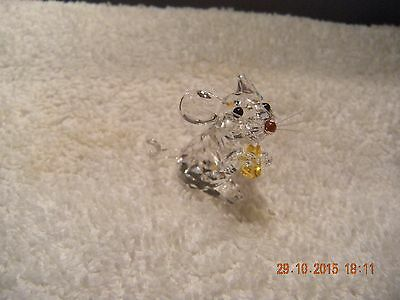 Swarovski crystal  - Mouse with Cheese