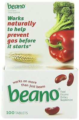 Beano Tablet 100 ct