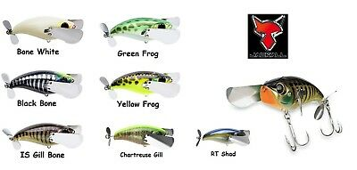 Jackall Pompadour Jr. Topwater Bait - Assorted Colors