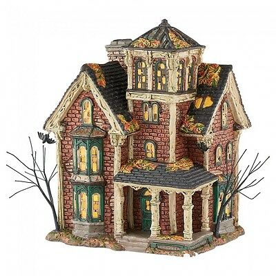 Department 56 Halloween Village 2016 GHASTLY'S HAUNTED VILLA 4051007 Ghastlys