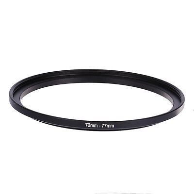 72mm-77mm 72mm To 77mm Step Up Rings Lens Adapter Filter Ring 72-77 For DSLR