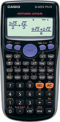 Calcolatrice Scientifica Casio Fx-82Es Plus Nuova!!