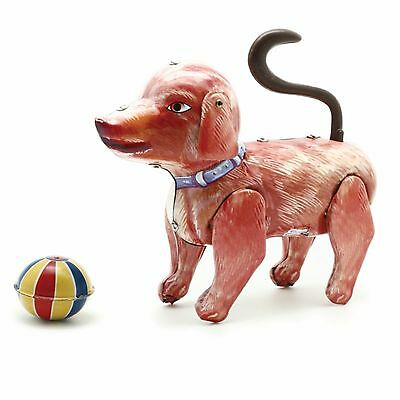 "Tinplate Toy Dog ""jolly Bruno """