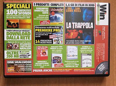 DVD WIN MAGAZINE 70  per PC  film LA TRAPPOLA