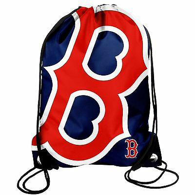Boston Red Sox Back Pack/Sack Drawstring Bag/Tote NEW Backpack BIG LOGO