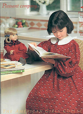 1993 Retired Pleasant Company Catalog! Kirsten School Dress Cover! American Girl