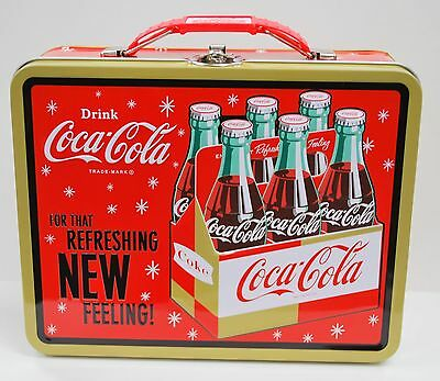 Coca-Cola (Coke) Tin Tote/Carry All - Refreshing New Feeling