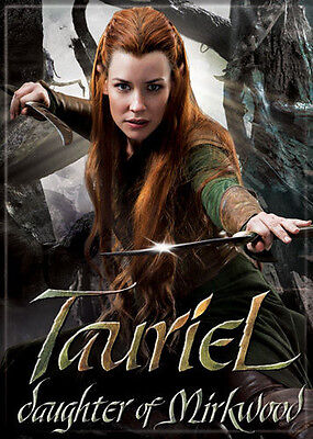 The Hobbit An Unexpected Journey Photo Quality Magnet: Tauriel