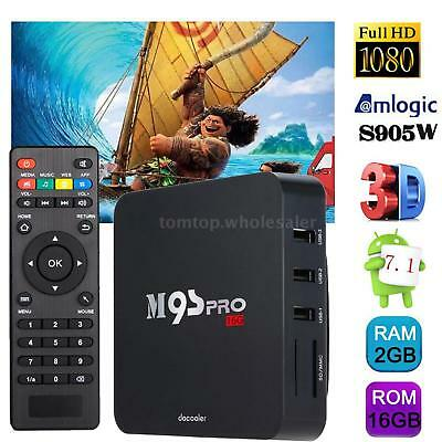 M9S-PRO 4K 2GB/16GB S905 Quad Core Smart Android 5.1 TV Box Fully Loaded 4K WIFI