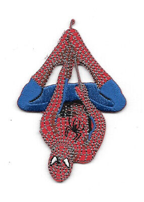 The Amazing Spider-Man Hanging Comic Book Figure Embroidered Patch NEW UNUSED