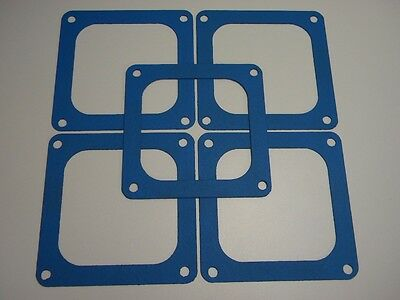 Holley Throttle Body Gasket List # 4412 Blue Non Stick Five Pack
