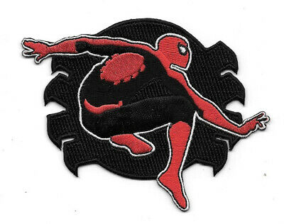 The Amazing Spider-Man Figure & Spidey Tracer ICON Embroidered Patch, NEW UNUSED