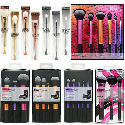 Real Techniques Makeup Brushes Set Core Collection/Travel Essentials/Starter Kit