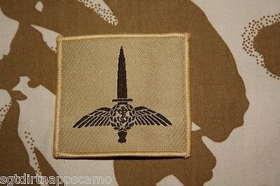 Royal Marines Commando Helicopter Force Desert Patch  7x7cm