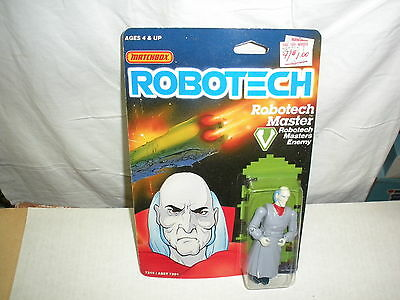 Matchbox Robotech MASTER 10 cm Master Enemy #7215 1985 C9 CARD