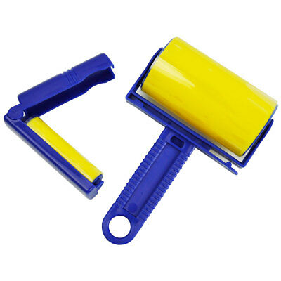 Reusable Sticky Clothes Carpet Lint Fur Pet Hair Remover Cleaner Roller Brush