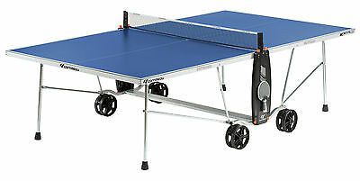 131605 CORNILLEAU Sport 100S Outdoor Weatherproof Table Tennis Table Blue