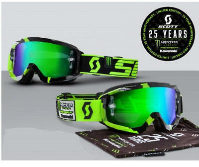 Scott 25th Anniversary Pro Circuit Monster Energy Limited Edition Goggles