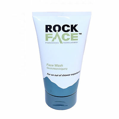 Rock Face Facial Wash Mens Everyday Treatment Moisturiser Skin Care Lather 150ml