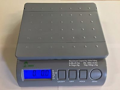 35 lbs Digital Postal Scale LW Measurements Weighing USPS FedEx UPS