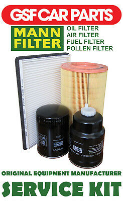 Service Kit Oil Air Fuel & Pollen Filters For Nissan Terrano 2.7 Tdi 4Wd