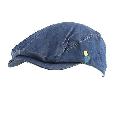 Summer Infant Kids Baby Boys 100% Cotton Drivers Ivy Cabbie Hat Cap Navy