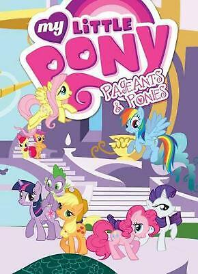 My Little Pony Pageants & Ponies by Cindy Morrow (English) Paperback Book Free S