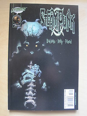STEAMPUNK # 3. By BACHALO, KELLY & FRIEND. WILDSTORM / CLIFFHANGER. 2000