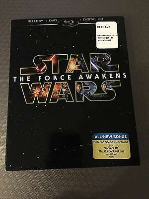 Blu-Ray Cover (COVER ONLY) Star Wars The Force Awakens