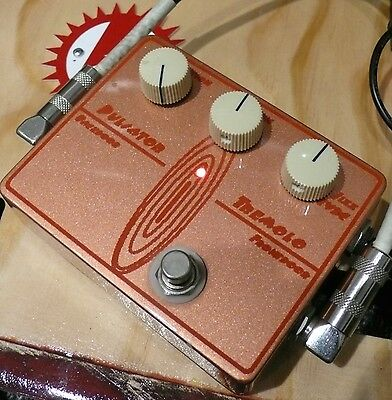 Bennett Music Labs Pulsator Tremolo Boutique Guitar Effects Pedal
