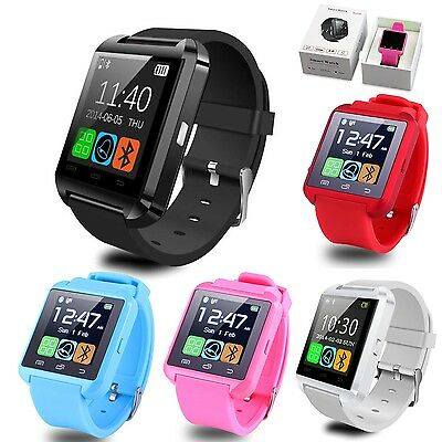 Bluetooth Smart Wrist Watch Phone Mate For Android Samsung Apple IOS iPhone Hot!