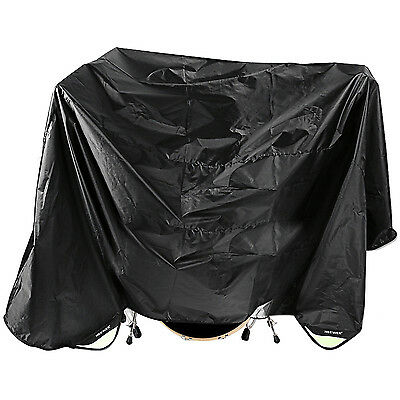Neewer Black 80 x 108 Inches Drum Set Dust Cover