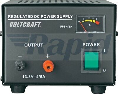 Voltcraft FSP-1134 Fixed Voltage Power Supply 4A 100W 13.8V DC