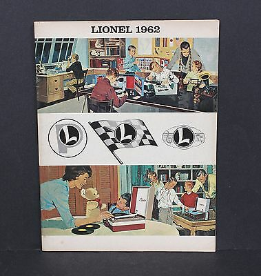 Lionel 1962 Catalog NOS Scalextric Slot Cars Science Sets Spear Phonographs