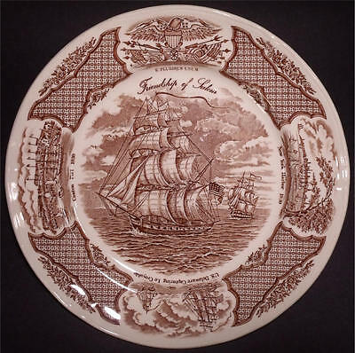 NRMT 3 Alfred Meakin Staffordshire Fairwinds Dinner Plates Friendship Salem 10.5