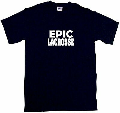 Epic Lacrosse Kids Tee Shirt Boys Girls Unisex 2T-XL